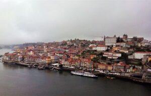 Panorámica de Oporto desde el Puente