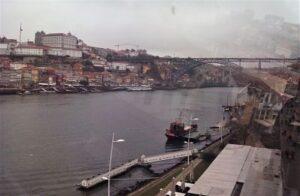 Panorámica de Oporto desde el teleférico