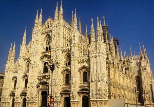 Preparativos de un fin de semana en Milán
