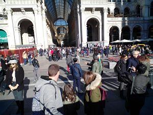 Domingo en Milán