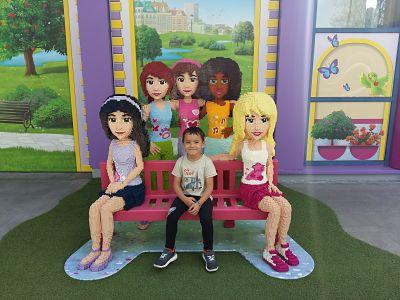 Día 2: Seguimos disfrutando en Legoland.