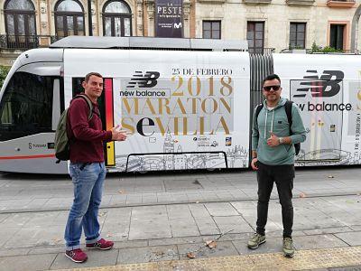 Preparativos para viajar a Sevilla