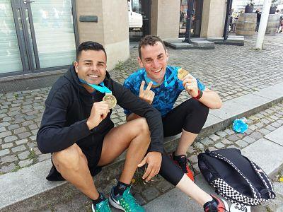 Día 2: Maratón de Copenhague y paseo al atardecer