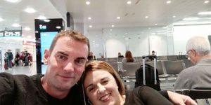 Esperar en avion en Viena