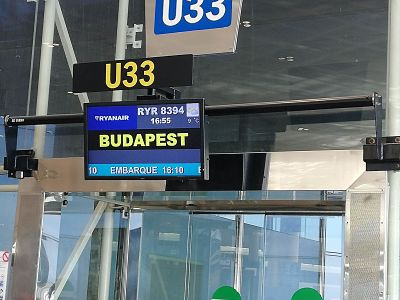 Viajar a Budapest, Día 1