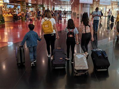 Elegir maleta de mano
