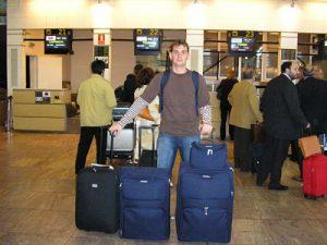 Demasiadas maletas para viajar