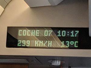 AVE al Maratón de Madrid
