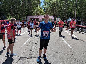Acabar el Maratón de Madrid