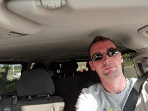 Selfie al volante por Europa y Alsacia