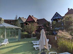 Panorámica Pierre et vacances Eguisheim, apartamentos cerca de Europa Park en Alsacia