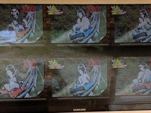 Foto de la pantalla con nuestro descenso del Todtnau rollercoaster