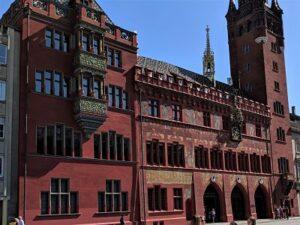 Fachada del ayuntamiento de Basilea