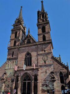Fachada Catedral de Basilea