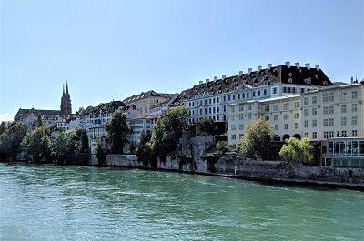 Panorámica del casco antiguo de Basilea