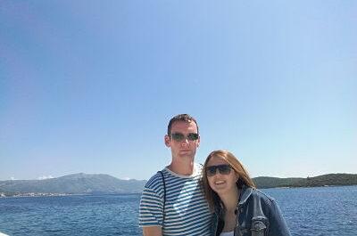 Selfie de necesitamos viajar junto al mar