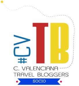 Logo de la asociación Comunidad Valenciana Travel Bloggers