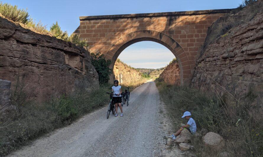 Vía verde Val de Zafán. Dos días en bicicleta. Alcañiz.